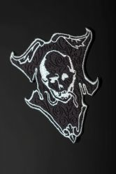 Coat-of-Arms of Death embroidered patch