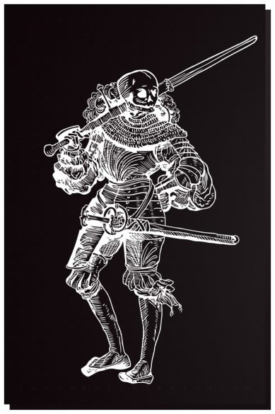 Macabre Paul Tee - Mens